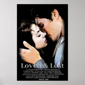 Affiche de film aimée et perdue