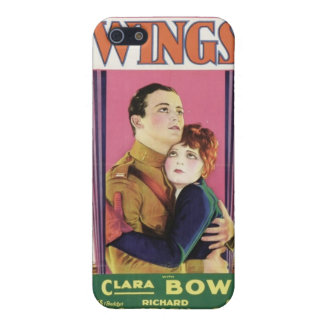 Affiche de film d AILES de Clara Bow iPhone 5 Case