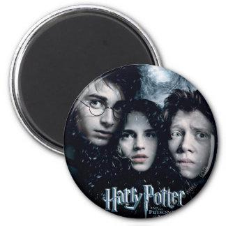 Affiche de film de Harry Potter Magnet Rond 8 Cm