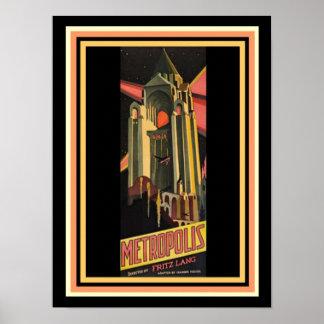 Affiche de film de métropole 12 x 16 posters