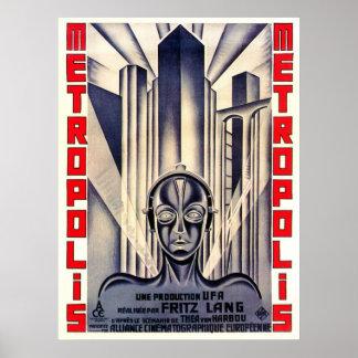 Affiche de film de métropole, Fritz Lang 1927 Posters