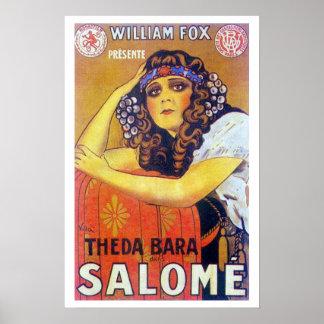 Affiche de film de Theda Bara Salome Posters