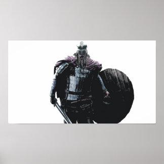 Affiche de guerrier de Viking Poster