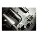 Affiche de guitare électrique