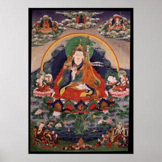 Affiche de Guru Rinpoche