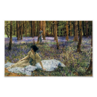 Affiche de jacinthes des bois de Lawrence Alma Tad Posters