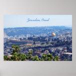 Affiche de Jérusalem, Israël