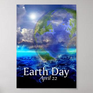 Affiche de jour de la terre