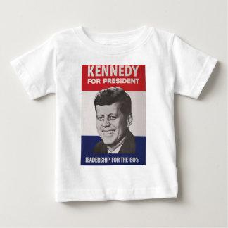 Affiche de Kennedy T-shirt Pour Bébé