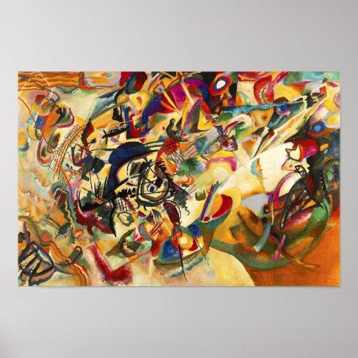 Affiche de la composition VII en Kandinsky