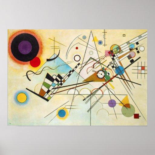 Affiche de la composition VIII en Kandinsky
