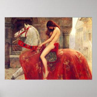 Affiche de Lady Godiva