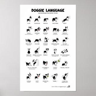 Affiche de LANGUE de CHIENCHIEN grande Posters