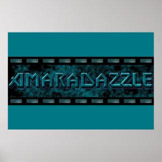 Affiche de logo d'AmaraDazzle Poster