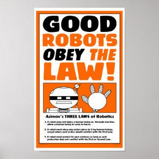"""Affiche de """"LOI de ROBOT"""" de lac autumn Posters"""