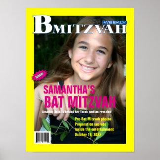 Affiche de magazine de B Mitzvah