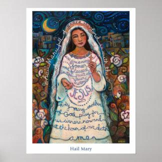 """Affiche de Mary de grêle, 18x24 """" Posters"""