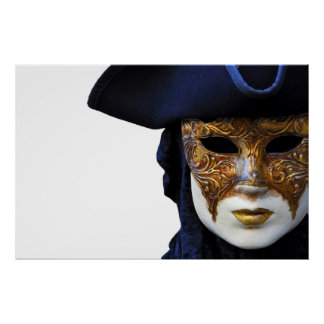 Affiche de masque de Venise de théâtre de Casanova Posters