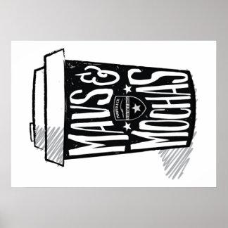 Affiche de Mavs et de mokas Poster