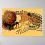 Affiche de Mercury de planète