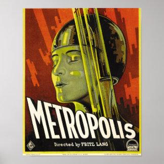 Affiche de métropole posters