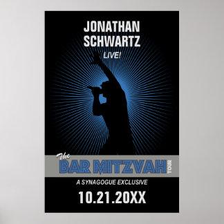 Affiche de Mitzvah de barre de vedette du rock dan Posters