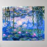 Affiche de nénuphars de Monet