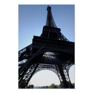 Affiche de Paris France de Tour Eiffel Poster