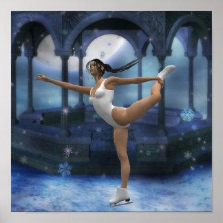 Affiche de patinage artistique