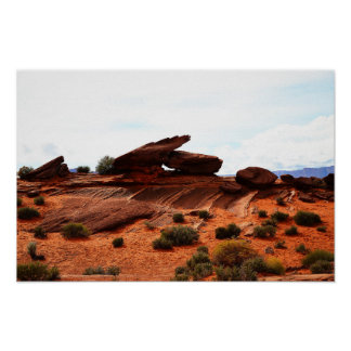 Affiche de paysage de l'Arizona Poster