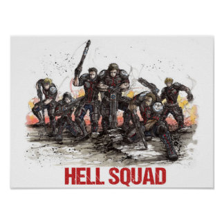 Affiche de peloton d'enfer poster