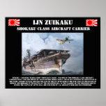 Affiche de porte-avions d'IJN Zuikiaku