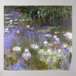 Affiche de printemps de Monet
