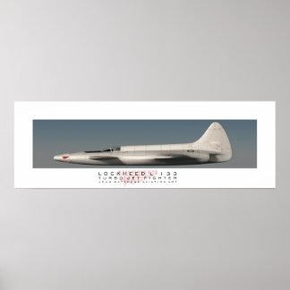 Affiche de profil de Lockheed L-133 Posters