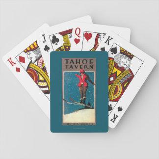 Affiche de promo de taverne de Tahoe Jeux De Cartes