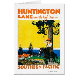 Affiche de Promotinal de lac huntington Cartes