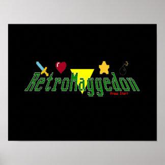 Affiche de RetroMaggedon Poster