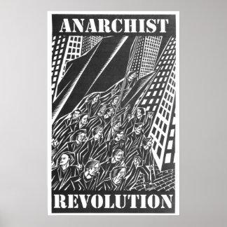 Affiche de révolution d'anarchiste posters