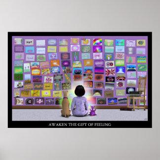 Affiche de sentiments d'Iphelia Poster
