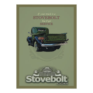 Affiche de service de Stovebolt Poster