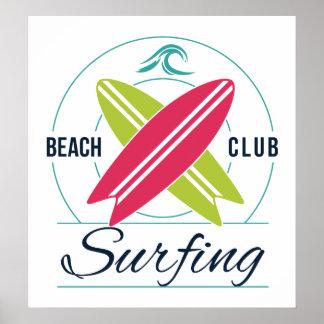 Affiche de surfer posters