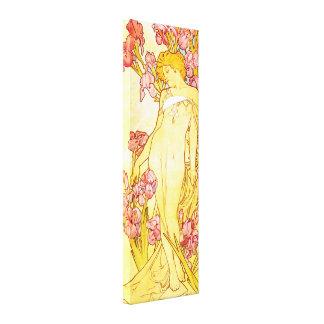 Affiche de toile d'iris d'Alphonse Mucha Toiles
