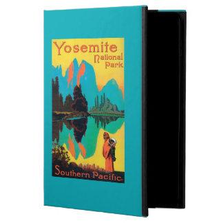 Affiche de touristes - parc national de Yosemite,