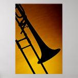 Affiche de trombone