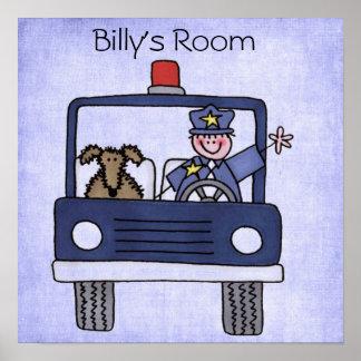 Affiche de voiture de police posters