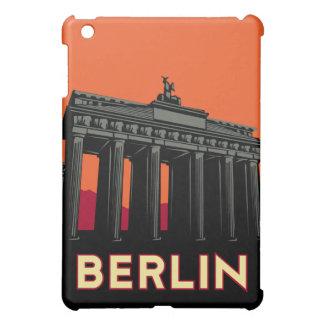 affiche de voyage d'art déco de Berlin rétro Étui iPad Mini