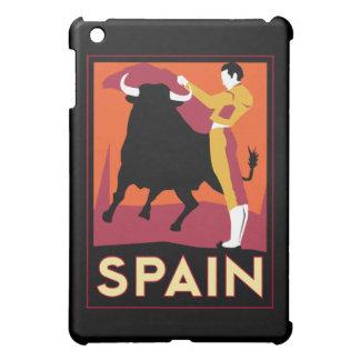 affiche de voyage d'art déco de l'Espagne rétro Coques iPad Mini