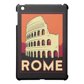 affiche de voyage d'art déco de Rome rétro Coques iPad Mini