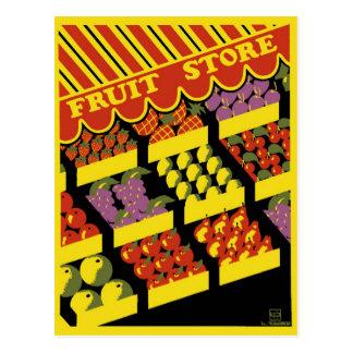 """Affiche de WPA - carte postale """"de magasin de"""