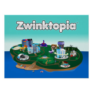 Affiche de Zwinktopia Posters